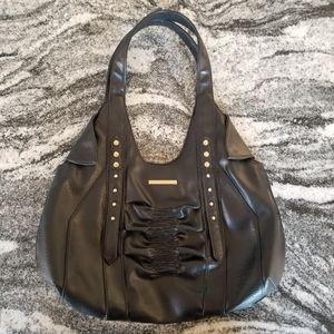 Matt by Matt and Nat Black Handbag ❤Gold Accents